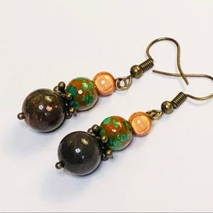 CEDAR FOREST Jasper Earrings